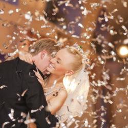 Irish Wedding Djs - Bride & Groom Confetti